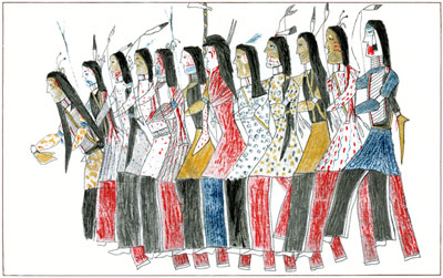 Native American Drawings