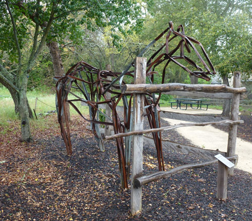 Taste of Yountville - Horse Sculpture