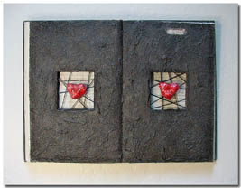 Contemporary Wall Decor :: Stone Heart