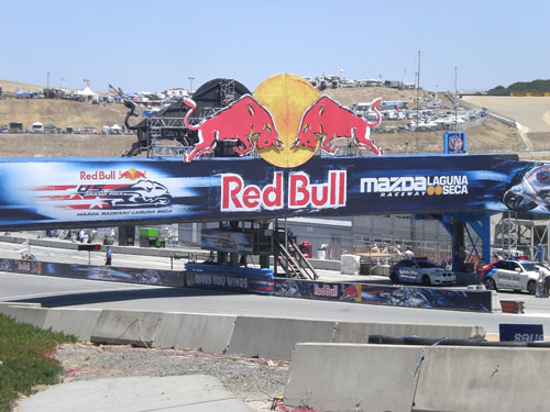 Red Bull Race Sign